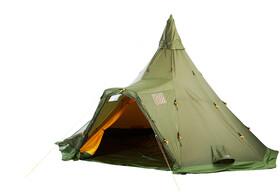 Helsport Varanger 8 10 Camp Outertent + Pole green | Gode